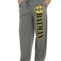 DC Comics Batman Grey Guys Pajama Pants