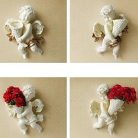 Creative Wall Hanging Angel Vase for Living Room Decoration