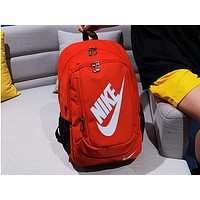 NIKE Sells Fashionable Backpacks for Men and Women Red