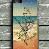 Anchor Beach Skull iPhone 6S Plus Case