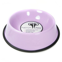 Platinum Pets Embossed Non-Tip Pet Bowl
