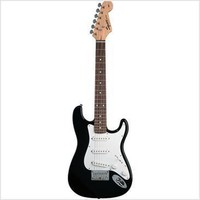 Squier by Fender Mini Strat Electric Guitar - Black at Hello Music