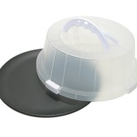 ProBake Teflon Platinum Nonstick 12-Inch Cake and Pastry Carrier with Matching Lid