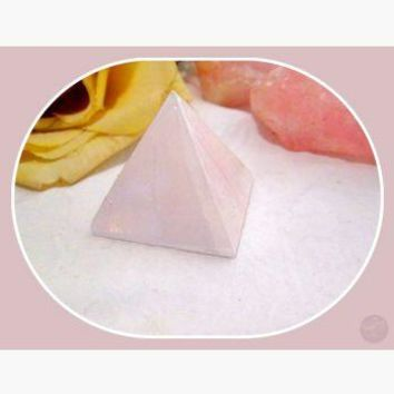 """Peace & Tranquility"" Selenite Pyramid"