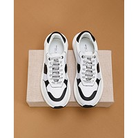 BV  Men Fashion Boots fashionable Casual leather Breathable Sneakers Running Shoes