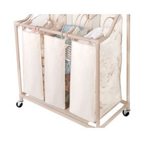 Brown 3-Section Laundry Shorter