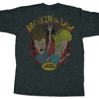 Beavis and Butthead Breakin the Law T-Shirt - only in 2XL