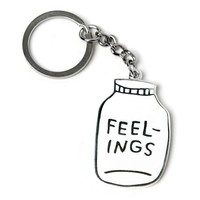 Bottled Up Feelings Keychain