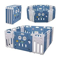 14 Panels Safety Baby Playpen