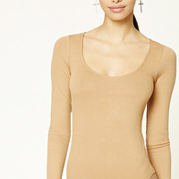 Ribbed Knit Bodysuit