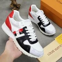 LV Louis Vuitton New Fashion Men Personality Running Sport Shoes Sneakers