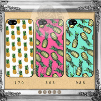 Pineapple, iPhone 5s case iPhone 5C Case iPhone 5 case iPhone 4 Case iPhone Samsung Galaxy S4 case Galaxy S3 ifg-04