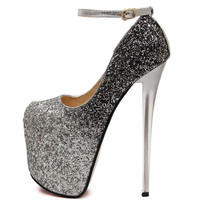 women in high heels highest heels pumps shinny shoes