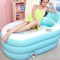 NEW Fashion Adult SPA Inflatable Bath Tub with Air Pump:Amazon:Health & Personal Care