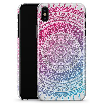 Ethnic Indian Tie-Dye Circle - iPhone X Clipit Case