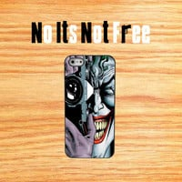 Joker Camera  iphone5 case thin hard plastic ipod touch4 ipod touch5 Samsung HTC phone cover Batman phone case