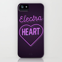 Electra Heart - Marina and the Diamonds iPhone & iPod Case by Nicholas Musi