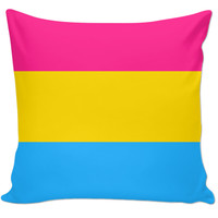 Pansexual Pride Couch Pillow