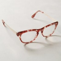 Rosetint Tortie Reading Glasses by Anthropologie in Rose Size: