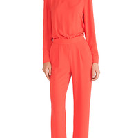 Diane von Furstenberg Jumpsuit in Orange
