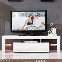 High Quality Glossy Finish Media Center For Comfort