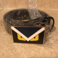 fendi Monster Belt Men's | Size 44'' Black