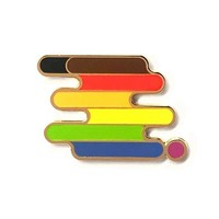 Queer POC Pride Pin
