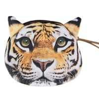 Multicolor Tiger Pattern Coin Purse