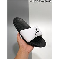 New Air Jordan Break Slide cheap Men's and women's nike Slippers Beach shoes