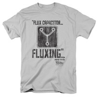 Back to the Future Fluxing Silver T-Shirt