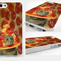 case,cover fits iPhone and samsung models>PEPPERONI>PIZZA>CAT>funny>cute,cats