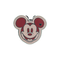 Vintage Pink and Red Mickey Mouse Pin