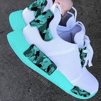 """""""Adidas"""" NMD Camo Boost Casual Sports Shoes"""