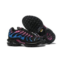 Nike Air Max Plus Black Blue Pink Child Sneaker Toddler Kid Shoes - Best Deal Online