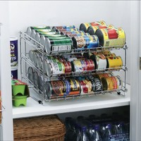 Deluxe Chrome Canned Food Storage Rack - #1 Customer Favorite!