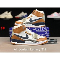 Nike Air Jordan Legacy 312 x Just Don Popular Men Retro High Tops Basketball Sneakers Sport Running Shoes 1#