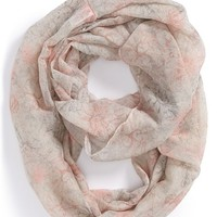 Junior Women's BP. Floral Stretch Infinity Scarf