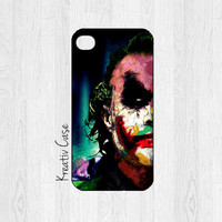 iPhone 5 case, iPhone 5S case - Villain, Joker Phone Case, Batman - Gifts for Him - G063