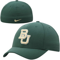 Baylor Bears Nike Performance Swoosh Flex Hat – Green