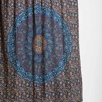 Magical Thinking Jade Medallion Shower Curtain- Blue One