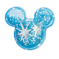 Mouse Brooch in Blue