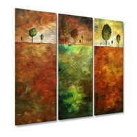 All My Walls In The Distance II Metal Wall Hanging - MAD00118 - All Wall Art - Wall Art & Coverings - Decor
