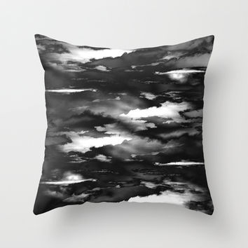 Combateur IV Throw Pillow by HappyMelvin Graphicus