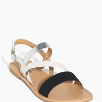 Keyda-S Metallic Color Block Sandal