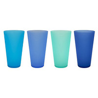 Celebrate Summer Together 4-pc. Cool Blue Acrylic Cup Set