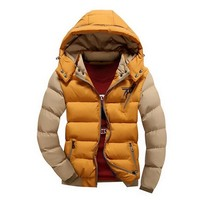 Mens Hooded Thermal Jacket