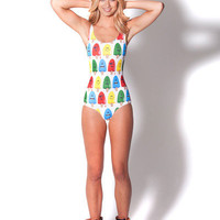 Popsicle White Swimsuit (Made to Order)
