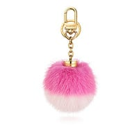 Products by Louis Vuitton: Fluo Bubble BB bag charm & key holder