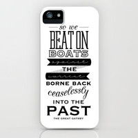 The Great Gatsby iPhone Case by Karissa Rush