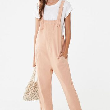 Pocket Denim Overalls